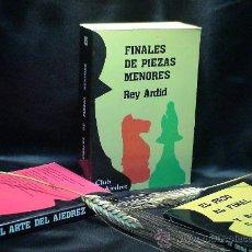 Coleccionismo deportivo: AJEDREZ. CHESS. FINALES DE PIEZAS MENORES (CON PEONES) - REY ARDID. Lote 94619266