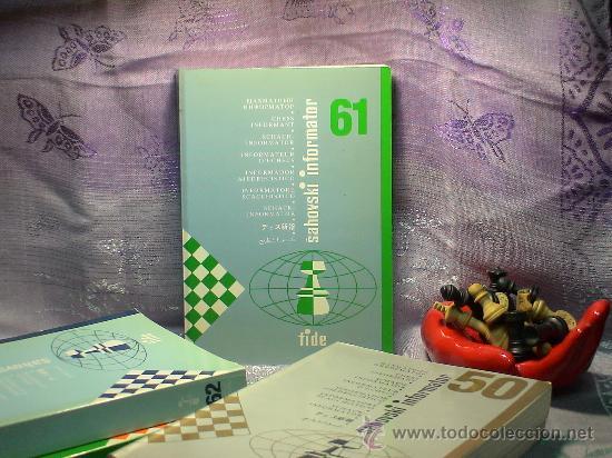 AJEDREZ. CHESS. INFORMADOR AJEDRECÍSTICO - SAHOVSKI INFORMATOR 61 VI-IX 1994 DESCATALOGADO!!! (Coleccionismo Deportivo - Libros de Ajedrez)