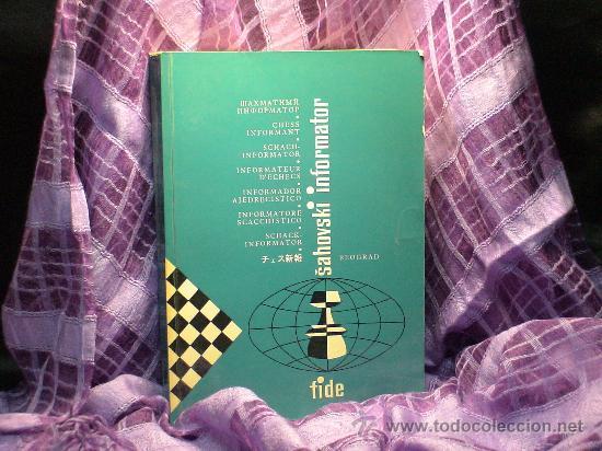 AJEDREZ. INFORMADOR AJEDRECÍSTICO - SAHOVSKI INFORMATOR 31 I-VI 1981 (Coleccionismo Deportivo - Libros de Ajedrez)