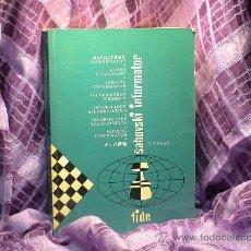 Coleccionismo deportivo: AJEDREZ. INFORMADOR AJEDRECÍSTICO - SAHOVSKI INFORMATOR 31 I-VI 1981. Lote 28547071