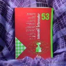 Coleccionismo deportivo: AJEDREZ. INFORMADOR AJEDRECÍSTICO - SAHOVSKI INFORMATOR 53 X 1991-I 1992. Lote 29860807