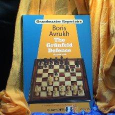 Coleccionismo deportivo: AJEDREZ. CHESS. THE GRÜNFELD DEFENCE. VOLUME TWO - BORIS AVRUKH (GRANDMASTER REPERTOIRE 9). Lote 28570805