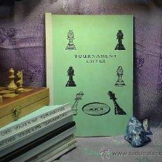 Coleccionismo deportivo: AJEDREZ. TOURNAMENT CHESS. VOLUME 35. Lote 50669230