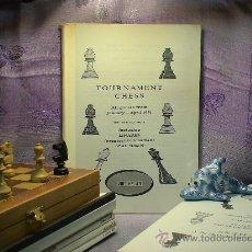 Coleccionismo deportivo: AJEDREZ. TOURNAMENT CHESS. VOLUME 40. Lote 28634539