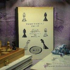 Coleccionismo deportivo: AJEDREZ. TOURNAMENT CHESS. VOLUME 42. Lote 28634584