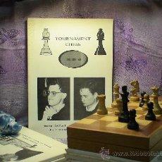 Coleccionismo deportivo: AJEDREZ. TOURNAMENT CHESS. VOLUME 44. Lote 28634677