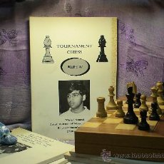 Coleccionismo deportivo: AJEDREZ. TOURNAMENT CHESS. VOLUME 47 DESCATALOGADO!!!. Lote 28634742