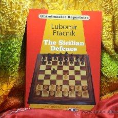 Coleccionismo deportivo: AJEDREZ. CHESS. THE SICILIAN DEFENCE - LUBOMIR FTACNIK (GRANDMASTER REPERTOIRE 6) DESCATALOGADO!!!. Lote 28753852