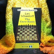 Coleccionismo deportivo: AJEDREZ. CHESS. THE CARO-KANN - LARS SCHANDORFF (GRANDMASTER REPERTOIRE 7) DESCATALOGADO!!!. Lote 28753871