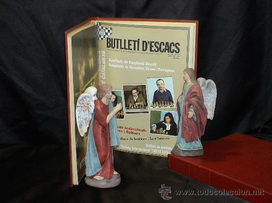 Coleccionismo deportivo: Ajedrez. Chess. Butlleti descacs. Año 1978 completo. Encuadernado tapa dura DESCATALOGADO!!! - Foto 2 - 29480951