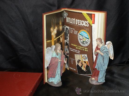 Coleccionismo deportivo: Ajedrez. Chess. Butlleti descacs. Año 1979 completo. Encuadernado tapa dura DESCATALOGADO!!! - Foto 2 - 29480962