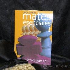 Coleccionismo deportivo: AJEDREZ. CHESS. MATES ESENCIALES I - JOHN NUNN. Lote 224326152
