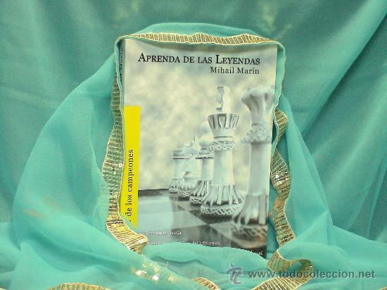 AJEDREZ. APRENDA DE LAS LEYENDAS - MIHAIL MARIN. CHESSCAFE BOOK OF THE YEAR 2005 DESCATALOGADO!!! (Coleccionismo Deportivo - Libros de Ajedrez)