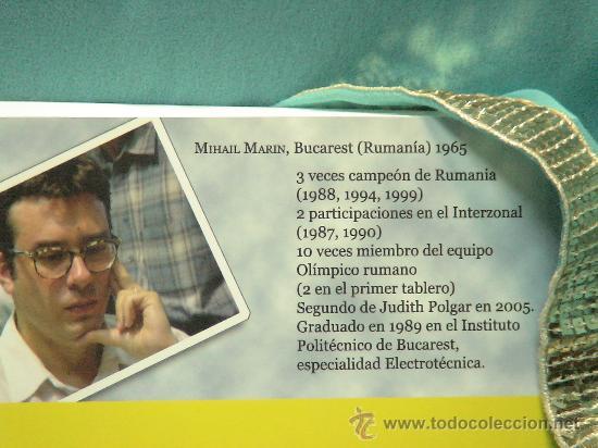 Coleccionismo deportivo: Ajedrez. Chess. Aprenda de las leyendas - Marin. ChessCafe Book of the Year 2005 DESCATALOGADO!!! - Foto 4 - 72246143