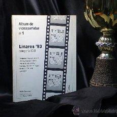 Coleccionismo deportivo: AJEDREZ. LINARES 93. CATEGORÍA XVIII. ALBUM DE VIDEOPARTIDAS Nº 1 - JAVIER CARPINTERO/ALFONSO ROMERO. Lote 35384621