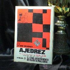Coleccionismo deportivo: CHESS. IV GRAN TORNEO INTERNACIONAL DE AJEDREZ PALMA DE MALLORCA 1968 - MATANOVIC/SPASSKY/CALVO/OSTO. Lote 40706922