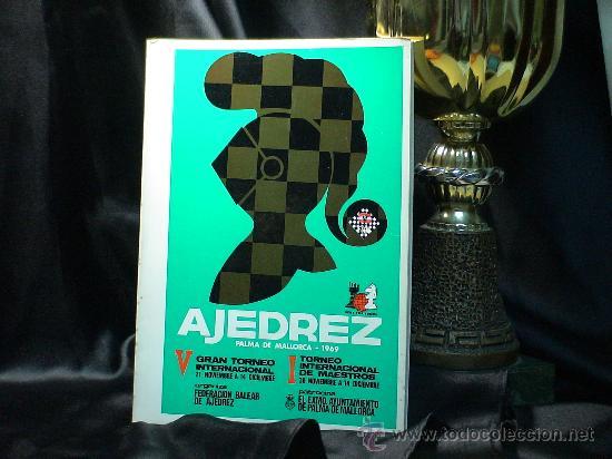 CHESS. V GRAN TORNEO INTERN DE AJEDREZ PALMA DE MALLORCA 1969 - MECKING/O'KELLY/DÍEZ DEL CORRAL DESC (Coleccionismo Deportivo - Libros de Ajedrez)