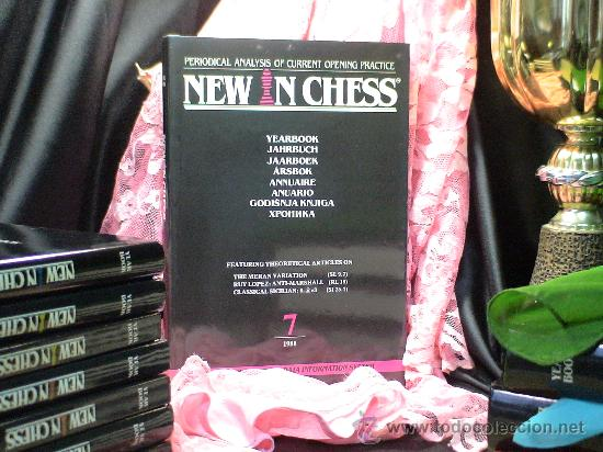 Coleccionismo deportivo: Ajedrez. New in Chess Yearbook - Anuario 7 - 1988 - Tapa dura DESCATALOGADO!!! - Foto 1 - 31814172