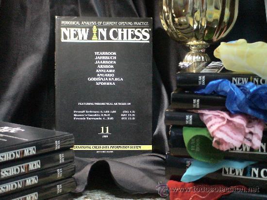 AJEDREZ. NEW IN CHESS YEARBOOK - ANUARIO 11 - 1989 - TAPA BLANDA DESCATALOGADO!!! (Coleccionismo Deportivo - Libros de Ajedrez)