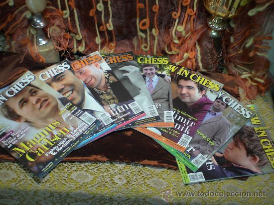 AJEDREZ. REVISTA. MAGAZINE NEW IN CHESS 2011. AÑO COMPLETO. OFERTA!!! (Coleccionismo Deportivo - Libros de Ajedrez)