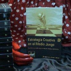 Coleccionismo deportivo: AJEDREZ. ESTRATEGIA CREATIVA EN EL MEDIO JUEGO - ALFONSO ROMERO HOLMES. Lote 31934938