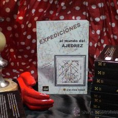 Coleccionismo deportivo: CHESS. EXPEDICIONES AL MUNDO DEL AJEDREZ - CHRISTIAN HESSE. Lote 34434573
