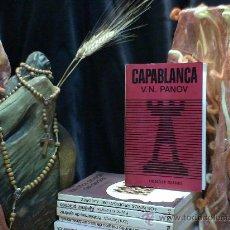 Coleccionismo deportivo: AJEDREZ. CAPABLANCA - VASILY PANOV DESCATALOGADO!!!. Lote 32022002