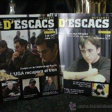 Ajedrez. Butlleti d'escacs. Año 2011 completo