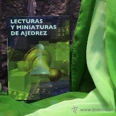 Coleccionismo deportivo: LECTURAS Y MINIATURAS DE AJEDREZ - CARLOS JUAN MATEU DESCATALOGADO!!!. Lote 32076381