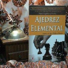 Coleccionismo deportivo: AJEDREZ ELEMENTAL - PANOV/CAPABLANCA/PERSITS/SUETIN. Lote 32077174