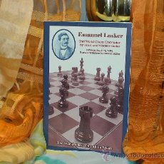 Coleccionismo deportivo: AJEDREZ. EMANUEL LASKER 2ND WORLD CHESS CHAMPION - ISAAC AND VLADIMIR LINDER. Lote 32098741