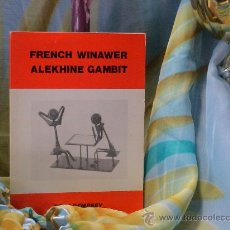 Coleccionismo deportivo: AJEDREZ. CHESS. FRENCH WINAWER. ALEKHINE GAMBIT - TONY DEMPSEY DESCATALOGADO!!!. Lote 32103370