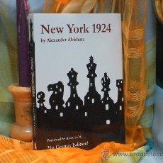 Coleccionismo deportivo: AJEDREZ. CHESS. NEW YORK 1924 - ALEXANDER ALEKHINE. Lote 44078640