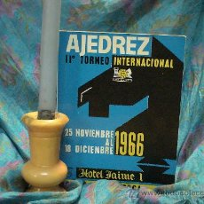 Coleccionismo deportivo: CHESS. IIº TORNEO INTERNACIONAL AJEDREZ PALMA DE MALLORCA 1966 - PUIG/TAHL/FILIP/BORRELL/POMAR/FLORI. Lote 32277978