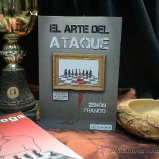 Coleccionismo deportivo: AJEDREZ. EL ARTE DEL ATAQUE - ZENÓN FRANCO. Lote 44958951