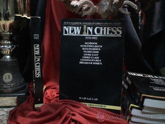 AJEDREZ. NEW IN CHESS LIBRO CLAVE 1970-1982 B: 1.D4 1.C4 1.CF3 DESCATALOGADO!!! (Coleccionismo Deportivo - Libros de Ajedrez)