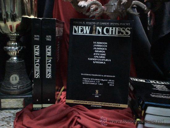 AJEDREZ. NEW IN CHESS YEARBOOK - ANUARIO 8 - 1988 - TAPA BLANDA DESCATALOGADO!!! (Coleccionismo Deportivo - Libros de Ajedrez)