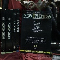 Coleccionismo deportivo: AJEDREZ. NEW IN CHESS YEARBOOK - ANUARIO 11 - 1989 - TAPA BLANDA DESCATALOGADO!!!. Lote 32300300