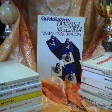 Coleccionismo deportivo: AJEDREZ. CHESS. DEFENSA SICILIANA. VARIANTE DEL DRAGÓN - EDUARD GUFELD/EFIM LAZAREV DESCATALOGADO!!!. Lote 32346537