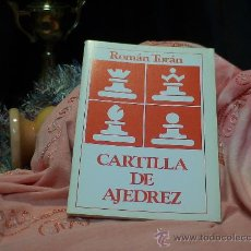 Coleccionismo deportivo - Cartilla de ajedrez - Román Torán - 58537589