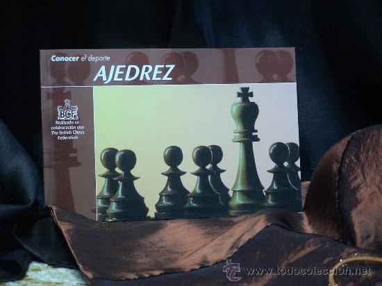 CHESS. CONOCER EL DEPORTE. AJEDREZ - VARIOS (Coleccionismo Deportivo - Libros de Ajedrez)