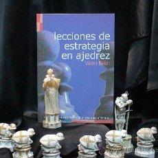 Coleccionismo deportivo: CHESS. LECCIONES DE ESTRATEGIA EN AJEDREZ - VALERI BEIM. Lote 45094566