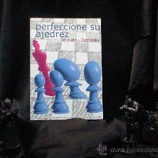 Coleccionismo deportivo: CHESS. PERFECCIONE SU AJEDREZ - ANDREI VOLOKITIN/VLADIMIR GRABINSKY. Lote 89312004