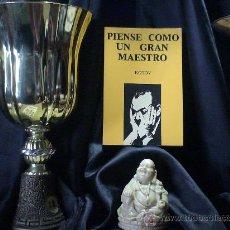 Coleccionismo deportivo: AJEDREZ. PIENSE COMO UN GRAN MAESTRO - ALEXANDER KOTOV DESCATALOGADO!!!. Lote 32595814