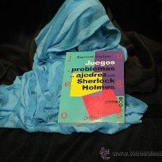 Coleccionismo deportivo: JUEGOS Y PROBLEMAS DE AJEDREZ PARA SHERLOCK HOLMES - RAYMOND SMULLYAN. Lote 32648627