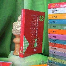 Coleccionismo deportivo: AJEDREZ. CHESS. INFORMADOR AJEDRECÍSTICO - SAHOVSKI INFORMATOR 53 X 1991 - I 1992 DESCATALOGADO!!!. Lote 32673577