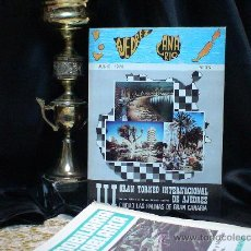 Coleccionismo deportivo: III GRAN TORNEO INTERNACIONAL DE AJEDREZ CIUDAD LAS PALMAS DE GRAN CANARIA 1974 DESCATALOGADO!!!. Lote 32695401