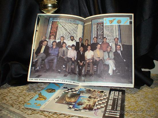 Coleccionismo deportivo: Chess. III Gran Torneo Internacio de Ajedrez Ciudad Las Palmas de Gran Canaria 1974 DESCATALOGADO!!! - Foto 2 - 32695401