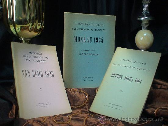 Coleccionismo deportivo: Schach. Chess. Torneo Internacional de Ajedrez San Remo 1930 - Alejandro Alekhine DESCATALOGADO!!! - Foto 2 - 32750383