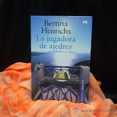Coleccionismo deportivo: LA JUGADORA DE AJEDREZ - BERTINA HENRICHS (NOVELA). Lote 46930148